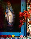 East LA Mary - Los Angeles by Larry Costales