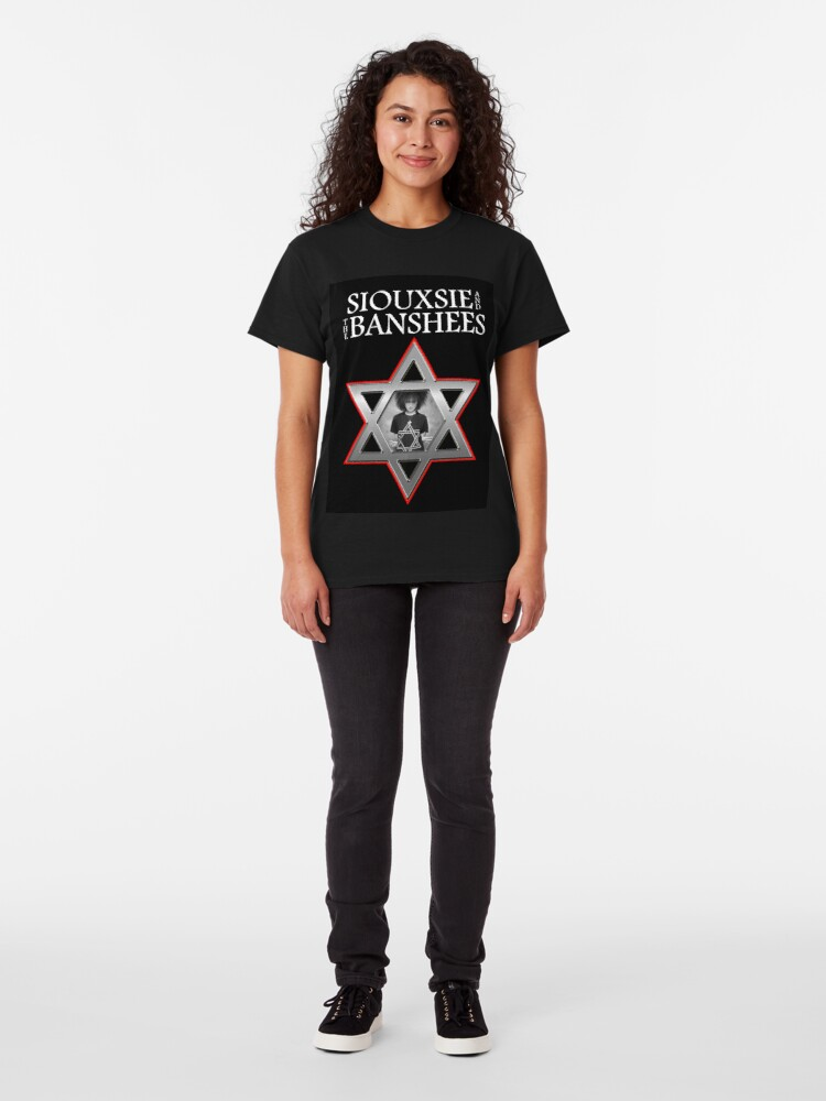 Alternate view of Siouxsie and the Banshees - Israel  Classic T-Shirt