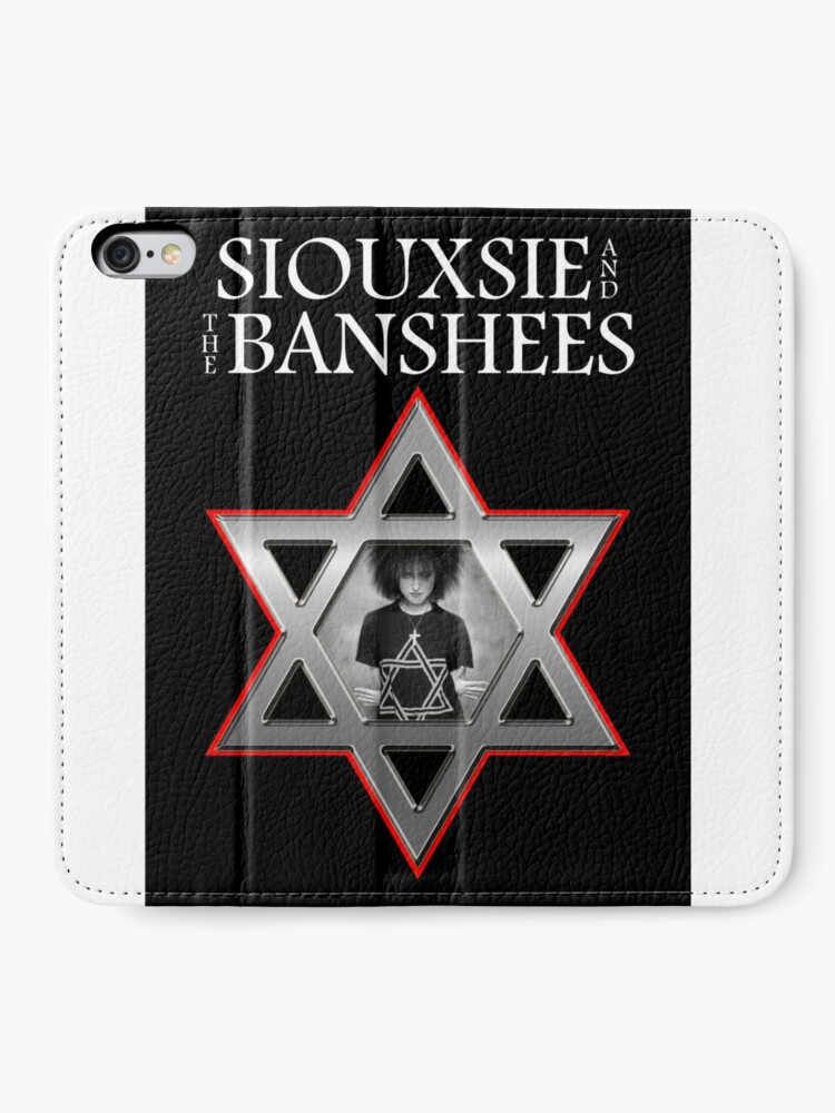 Alternate view of Siouxsie and the Banshees - Israel  iPhone Wallet