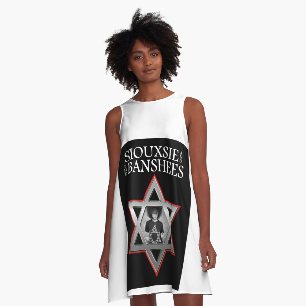 Siouxsie and the Banshees - Israel  A-Line Dress