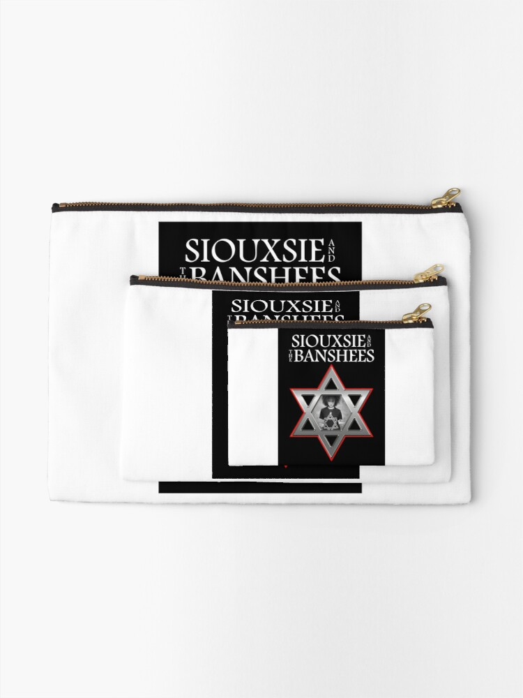 Alternate view of Siouxsie and the Banshees - Israel  Zipper Pouch