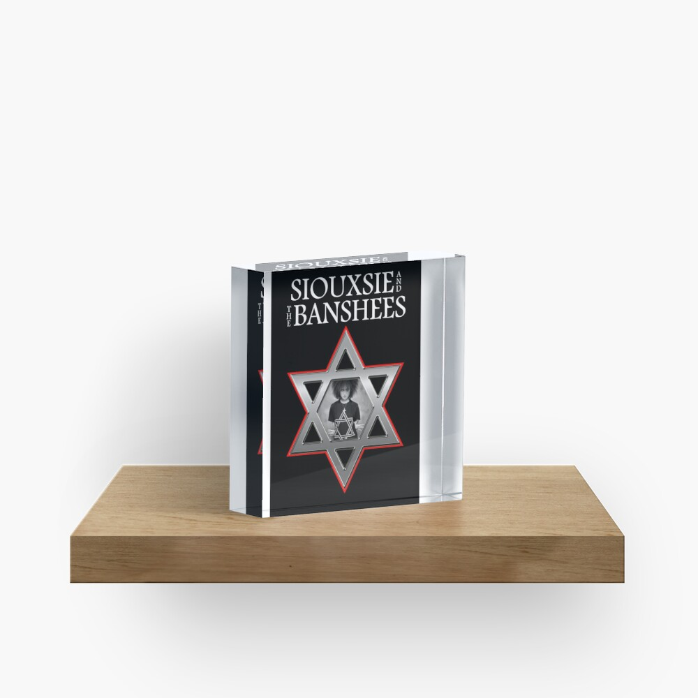 Siouxsie and the Banshees - Israel  Acrylic Block