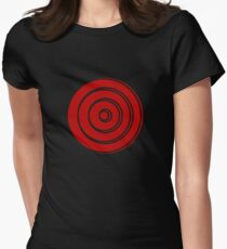 Mandala 33 Colour Me Red Women's Fitted T-Shirt