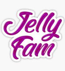 Jelly Fam Basketball Sticker