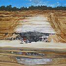 Red Rock - Rainbow Beach by Cary McAulay