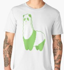 Green Alpanda (green) Men's Premium T-Shirt