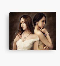 Jessica & Krystal Canvas Print