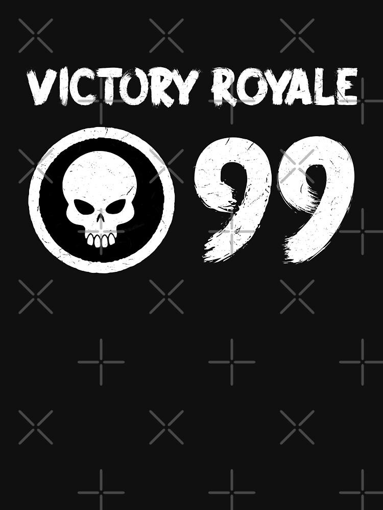 Fortnite Battle Royale Victory Royale 99 Kills Mens V Neck T