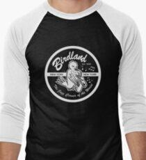 Vintage Ort: Birdland Jazz Club Baseballshirt für Männer