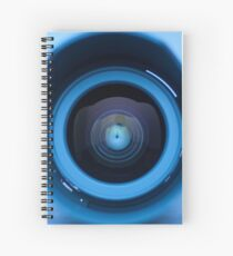 Camera lens 2 Spiral Notebook