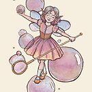 Bubble Fairy by MarinaPrints