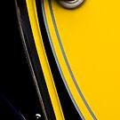Yellow car by Barbara  Corvino