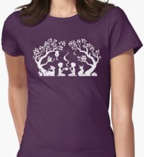 Twilight Teatime Women's Fitted T-Shirt