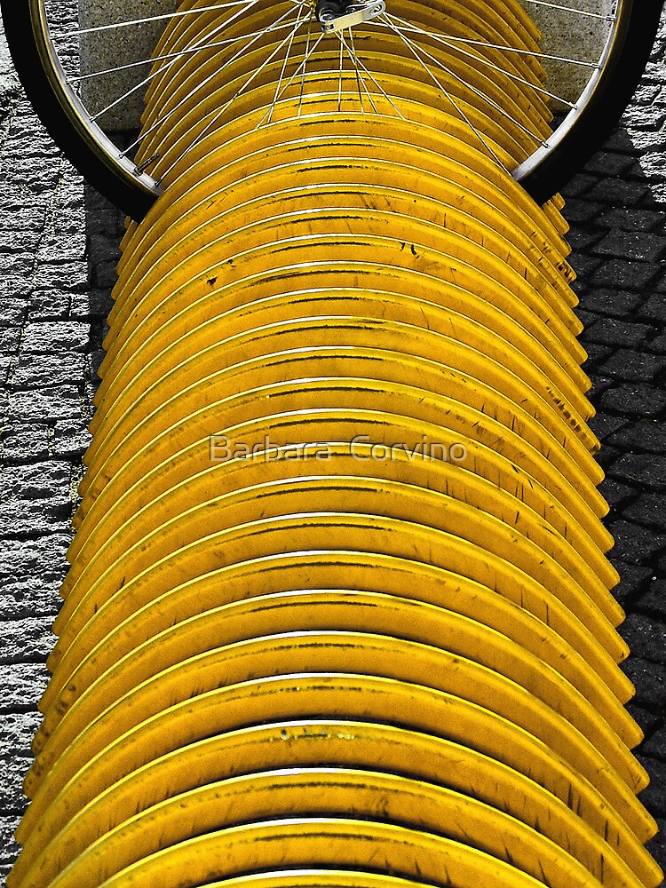 Yellow curves  by Barbara  Corvino