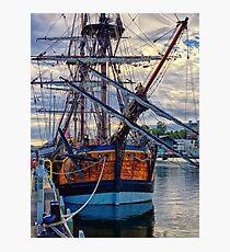 Captain Cook's HMB Endeavour Photographic Print