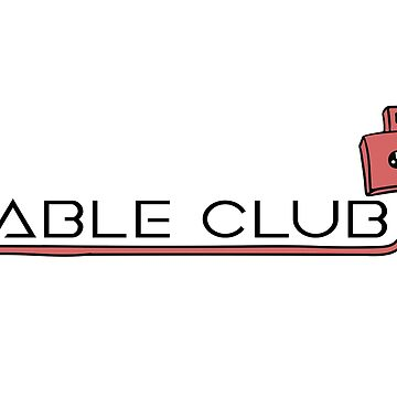 Cable Club T-shirts and other merch! by chalk13