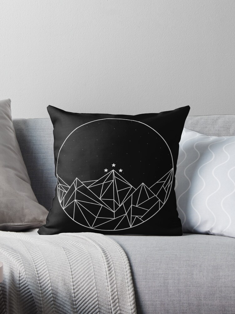 The Night Court Symbol Throw Pillows By Tori2040 Redbubble