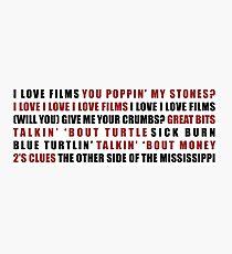 U Talkin U2 To Me? - Subpodcasts Photographic Print