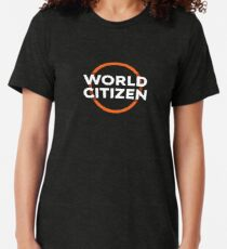 World Citizen Tri-blend T-Shirt