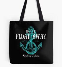 Let it Float Away - Black Tote Bag