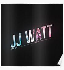 jj watt poster Poster