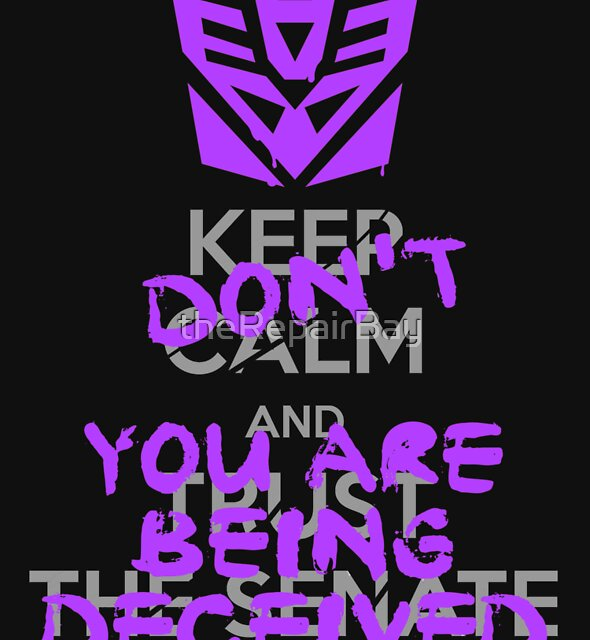 DON'T Keep Calm by theRepairBay