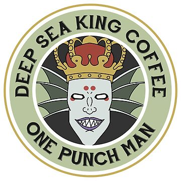 One Punch Man - Z City - Deep Sea King Coffee by MountainFold
