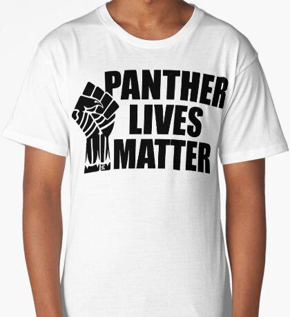 Panther Lives Matter [Black Edition] Long T-Shirt