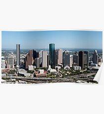 Houston Texas Skyline Poster
