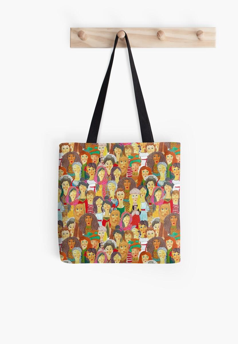 Pattern #75 - The gaze of sisterhood by Irene Silvino