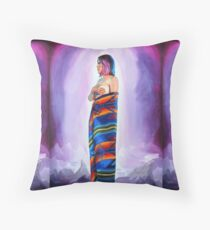 Purple Planets, Connection Floor Pillow