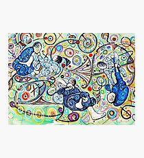 Let's Roll - Jiu-Jitsu - Bjj Art - Painting By Kim Dean Photographic Print