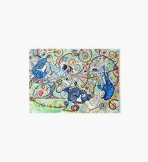 Let's Roll - Jiu-Jitsu - Bjj Art - Painting By Kim Dean Art Board