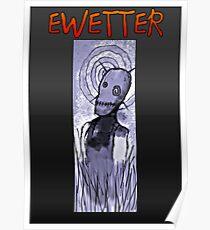 EWETTER COVER DESIGN Poster