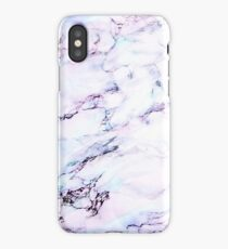 Purple Sky Marble iPhone Case