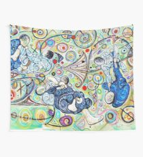 Let's Roll - Jiu-Jitsu - Bjj Art - Painting By Kim Dean Wall Tapestry