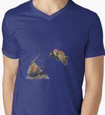 weasel riding woodpecker versus frog riding beetle T-Shirt