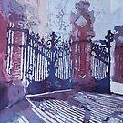 Sant Pau's Gates by JennyArmitage