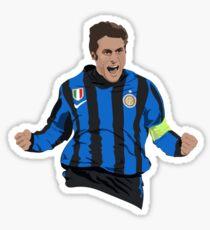 Javier Zanetti - Inter Captain Sticker