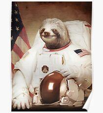 Astronaut Faultier Poster