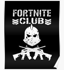 "Fortnite Battle Royale ""Fortnite Club"" Poster"
