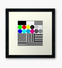 Redbubble Test Print - Wall Art Square Framed Print