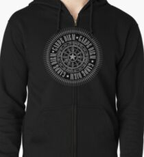 CARPE DIEM motto in T-SHIRTS and APPAREL Zipped Hoodie