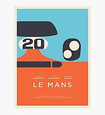 Le Mans Movie Gulf - Grundriss Layout C Fotodruck