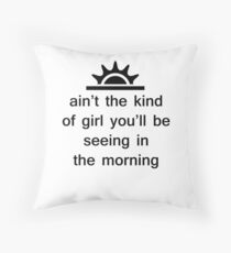 The Weeknd - The Morning Throw Pillow