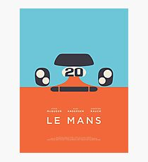 Le Mans Movie Gulf - Layout B Photographic Print