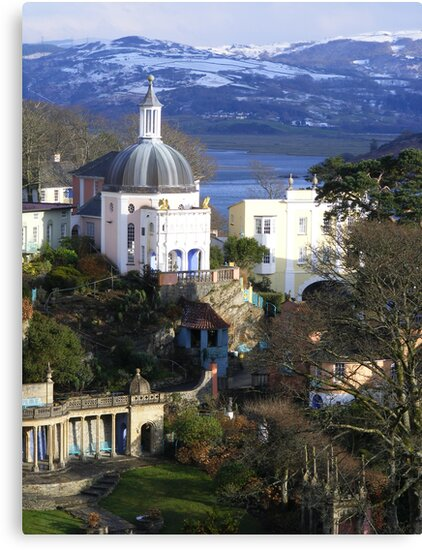 More of Portmeirion by Ian Richardson