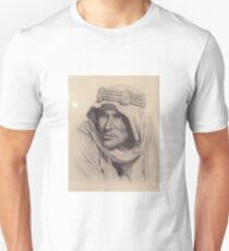 Lawrence of Arabia Artwork - N Philbin Unisex T-Shirt