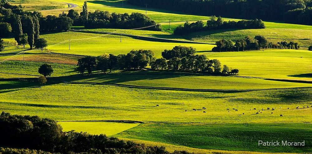 Light on the landscape by Patrick Morand