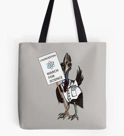 March for Science Launceston – Cassowary, full color Tote Bag